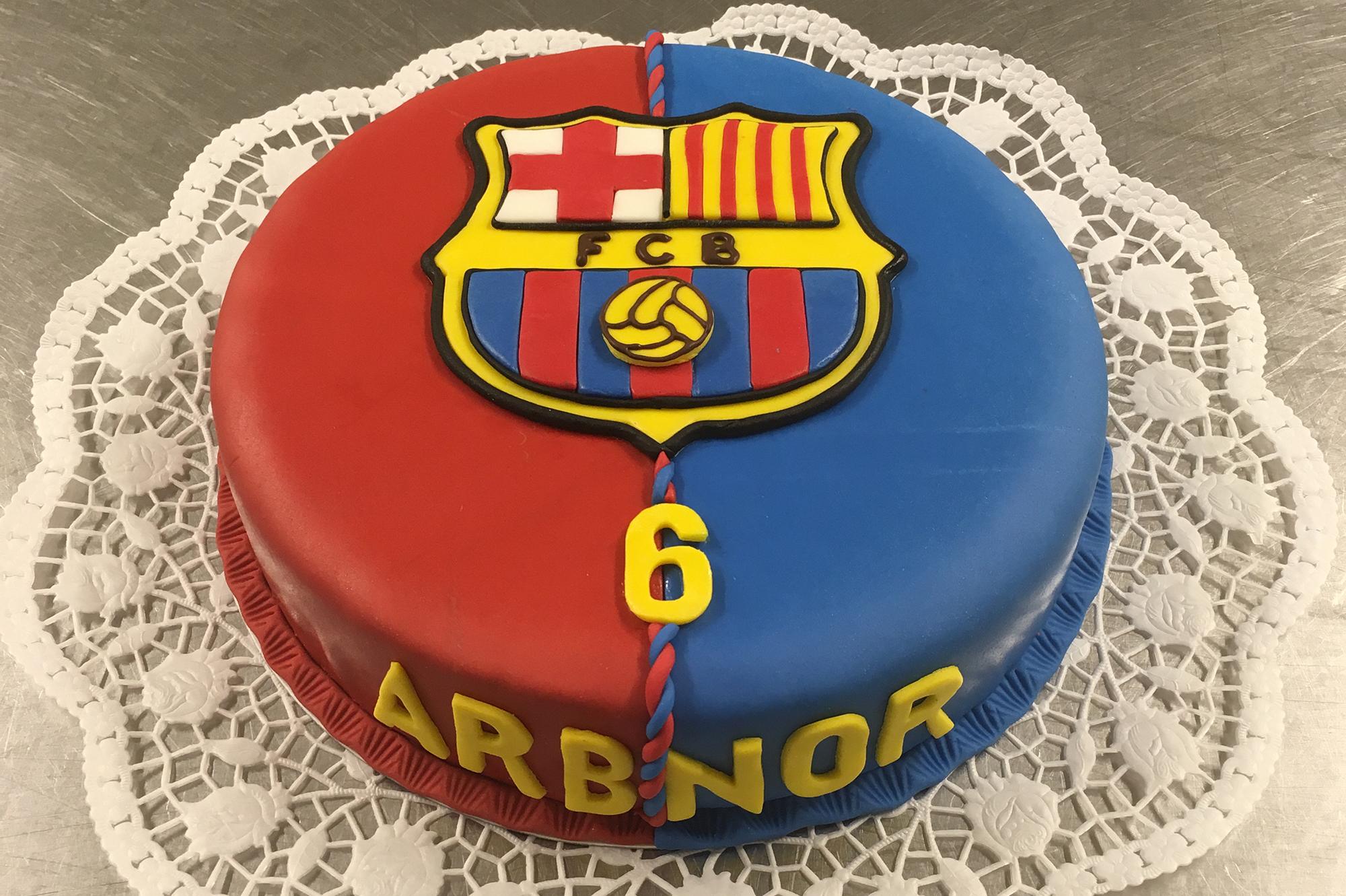 Barcelona Torte